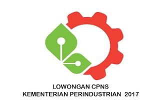 Lowongan CPNS Kementerian Perindustrian Tahun 2017