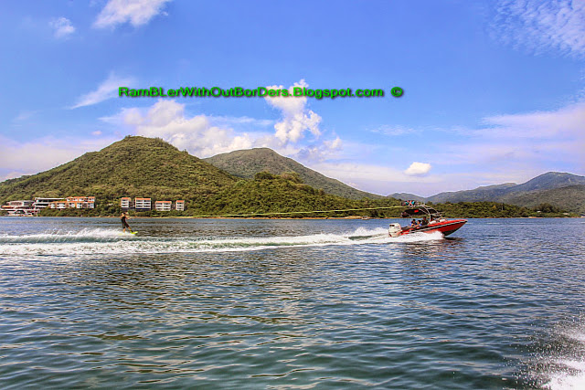 Water ski, Sai Kun Country Park, Hong Kong