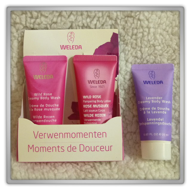 Weleda wilde rozen lavendel body wash body lotion