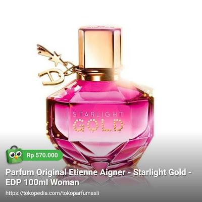 etienne aigner starlight gold edp 100ml woman