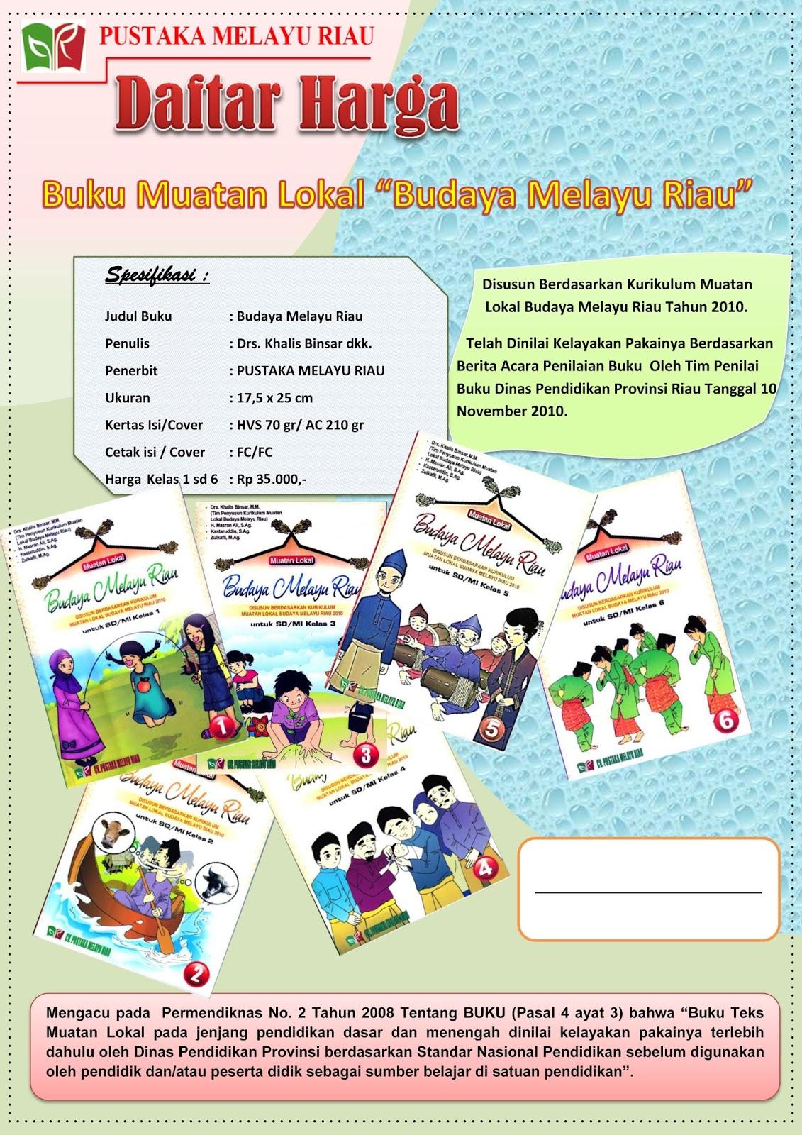 Download Buku Budaya Melayu Riau Kelas 11