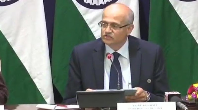 Cover Image Attribute: Statement by India's Foreign Secretary Vijay Keshav Gokhale on February 26, 2019, on the Strike on JeM training camp at Balakot / Screengrab: ANI