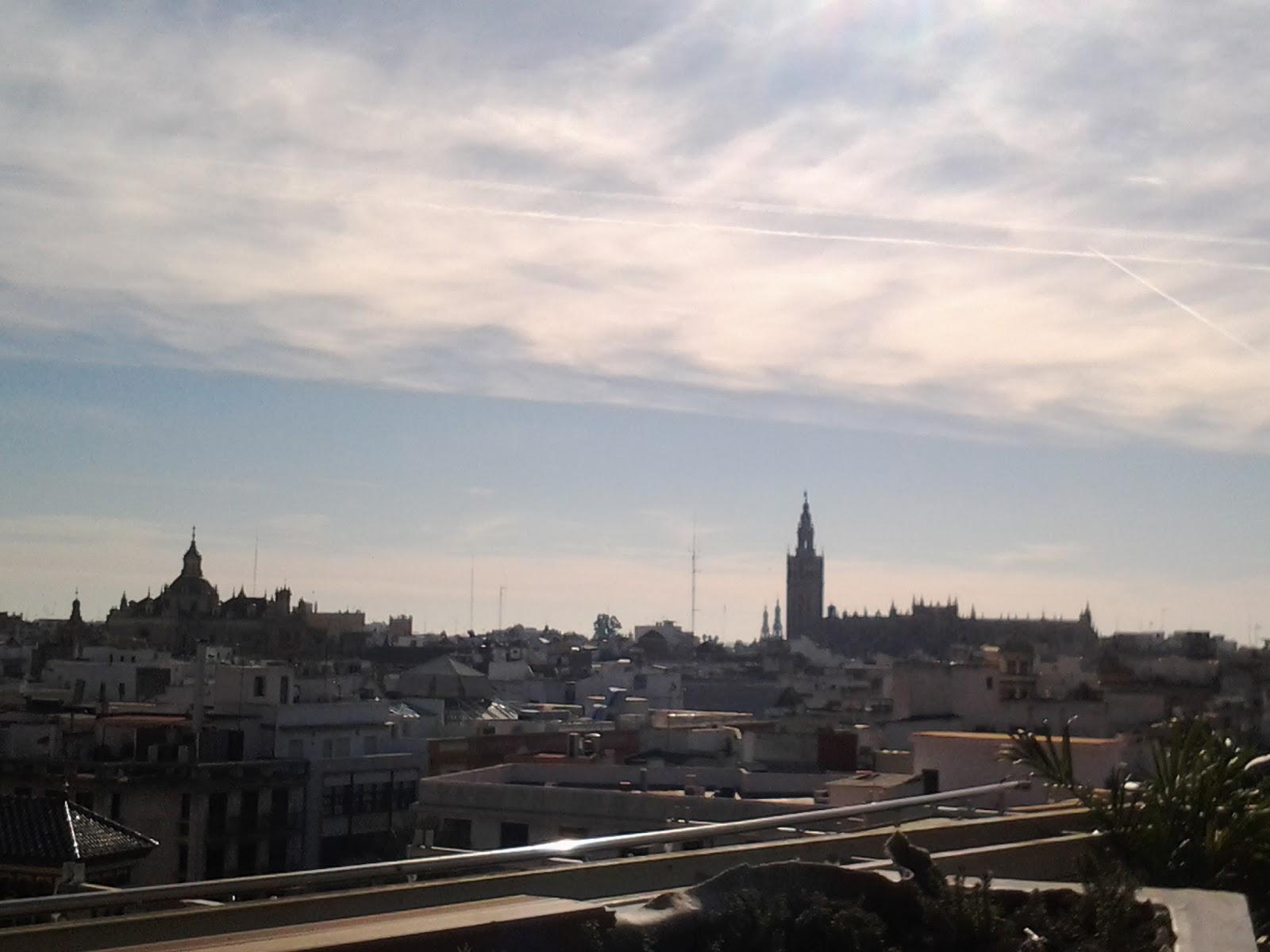Forzado Azar Corte Inglés Sevilla Terraza Vistas