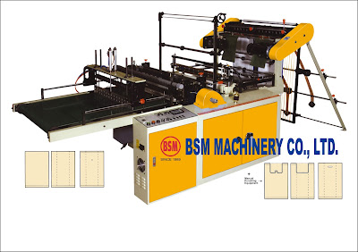 BOTTOM SEALING & SEMI T-SHIRT BAG MAKING MACHINE ; BOTTOM LINE & SEMI VEST BAG MAKING MACHINE