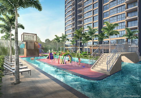 Hundred Palms Residences - Kid's Waterplay