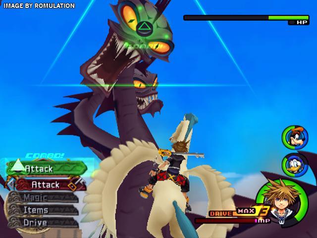 Kingdom Hearts II PS2 GAME ISO Screenshot 1