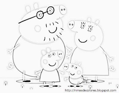 Blog De Los Niños Peppa Pig Para Colorear