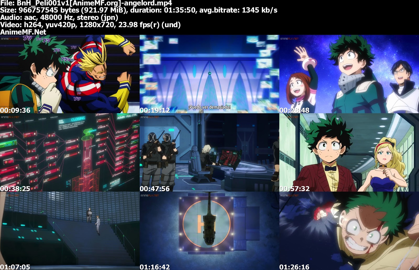 Boku no Hero Academia: Futari no Hero