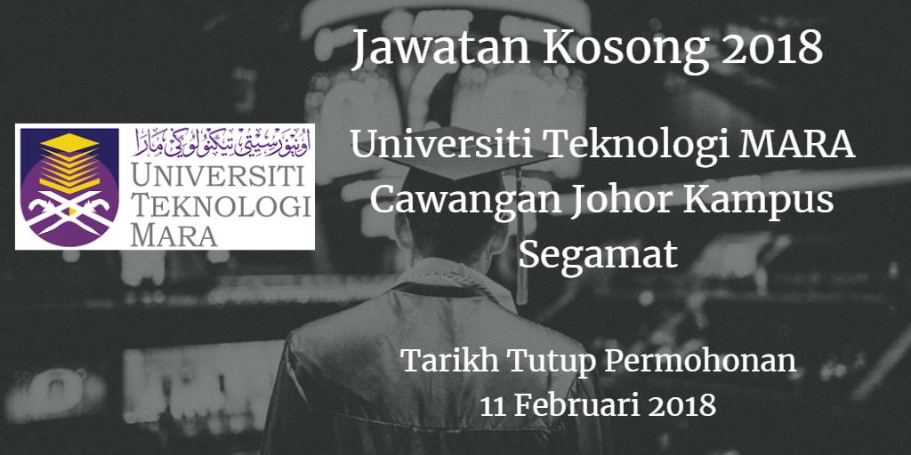 Universiti Teknologi MARA (UiTM) Cawangan Johor Kampus Segamat