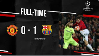 Manchester United vs Barcelona  0-1 Video Gol Highlights