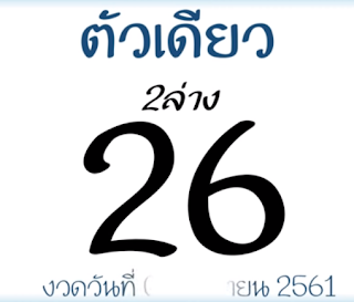 Thai Lottery Free 3D Lucky Tips For 01-10-2018