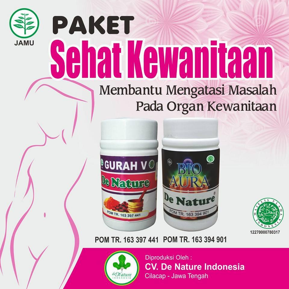 Obat Keputihan Abnormal (Bau Busuk, Gatal) de Nature