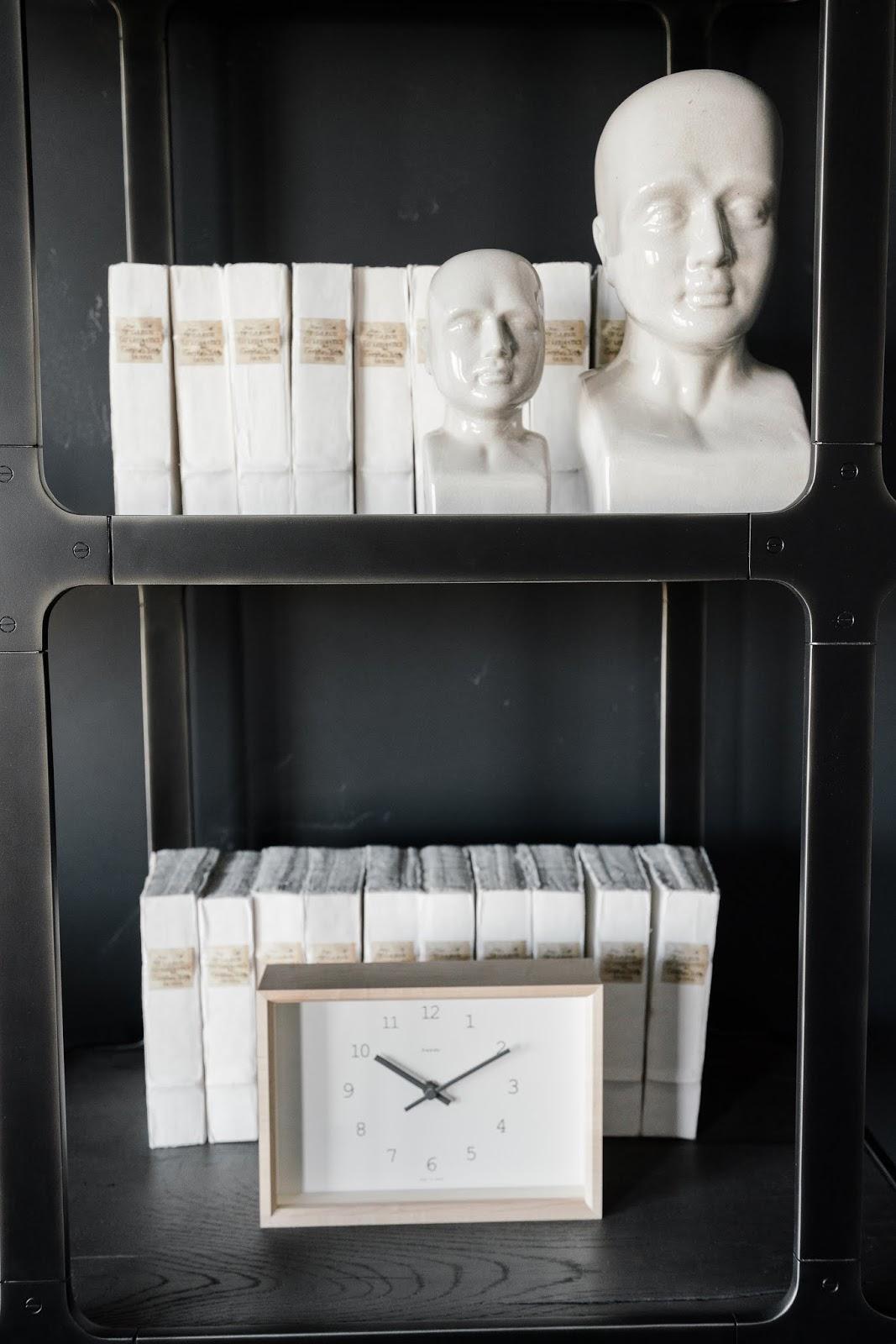 Masculine Bookshelf