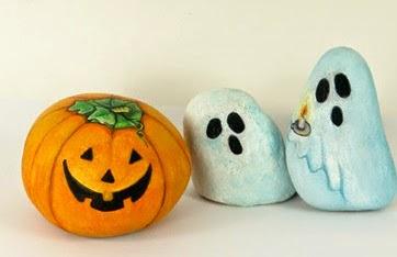 piedras-pintadas-halloween-decoración