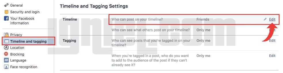 Cara Mengunci Dinding Facebook