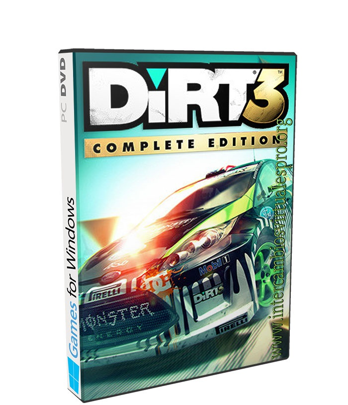 DiRT 3 Complete Edition poster box cover