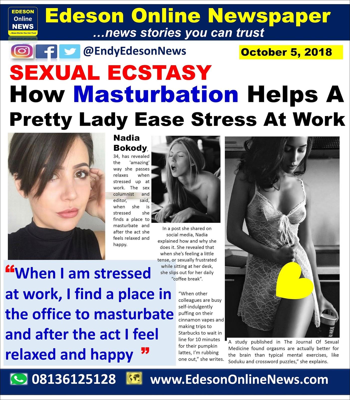 Masturbate tense up commit error