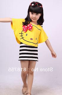 Gambar Baju Hello Kitty Untuk Anak 2