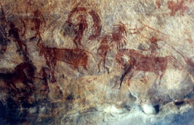 12,000-yr-old rock paintings discovered in central India