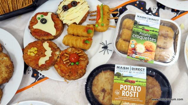 Mash Direct food