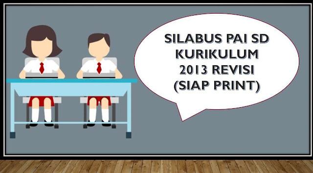 Download Silabus Kurikulum 2013 Sekolah Dasar dari kelas 1, 2, 3, 4, 5, dan 6