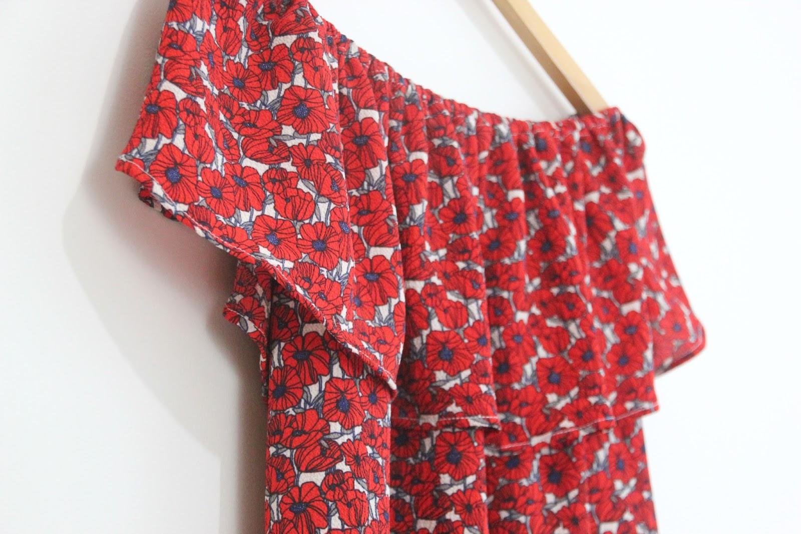DIY Tutorial y patrones: Blusa sin hombros - Handbox Craft Lovers ...