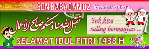 Banner Selamat Idul Fitri 9