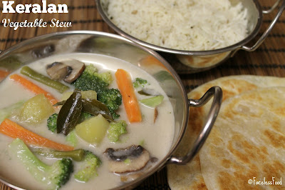 Keralan Vegetable Stew, Vegan
