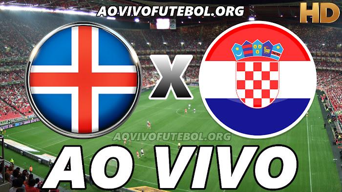 Islândia x Croácia Ao Vivo na TV