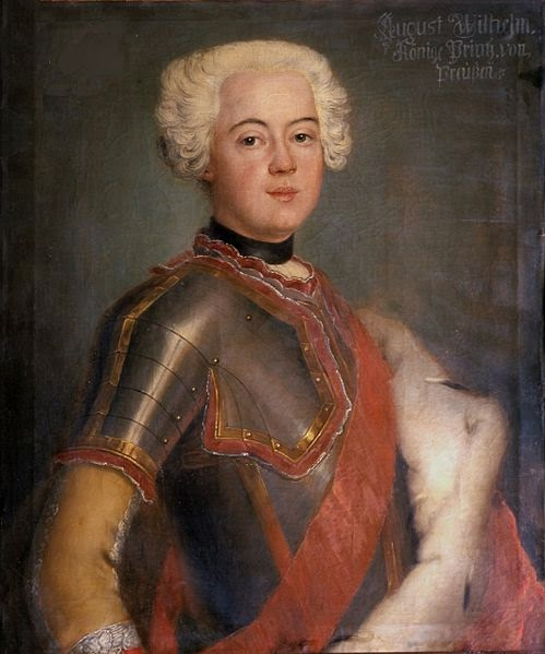 Augustus William of Prussia by G von Bern