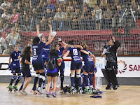 HOCKEY PATINES - El Concepción HC se convierte en el primer club femenino campeón de la Copa Intercontinental, con 4 goles de Felamini al Gijón HC