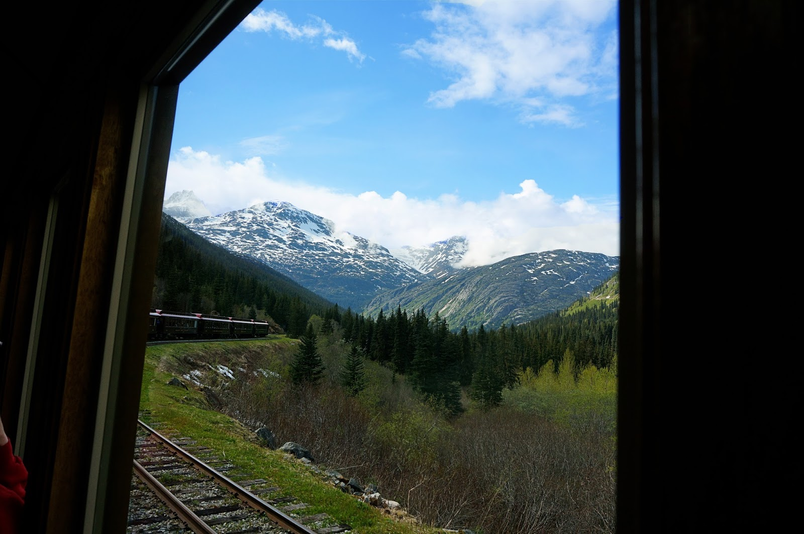 skagway train ride alaskan cruise review
