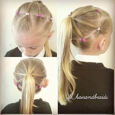 Peinados faciles para ninas con cabello corto