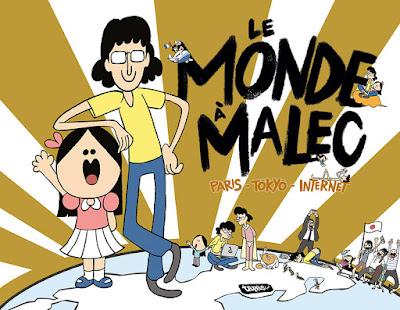 couverture Le Monde à Malec de Malec chez Delcourt
