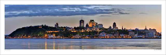 Quebec wide panoramic photo print for sale, Martin St-Amant wikipedia Owen Art Studios Panoramas