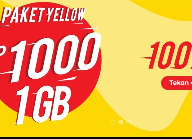 Paket Internet INDOSAT IM3 Yellow