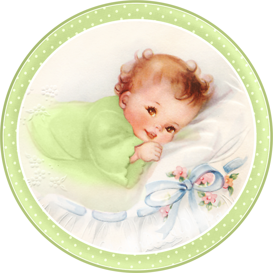 Clipart Of A Baby Bed