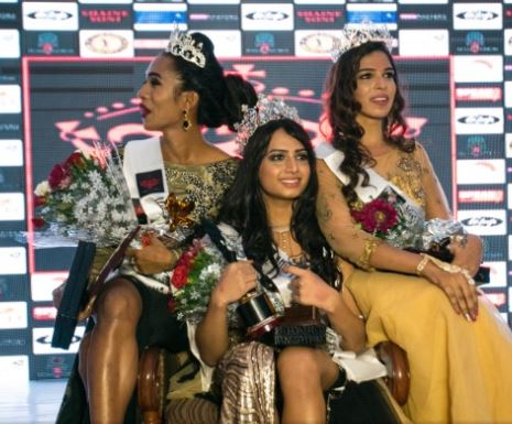 India crowns its first transgender beauty queen (photo)