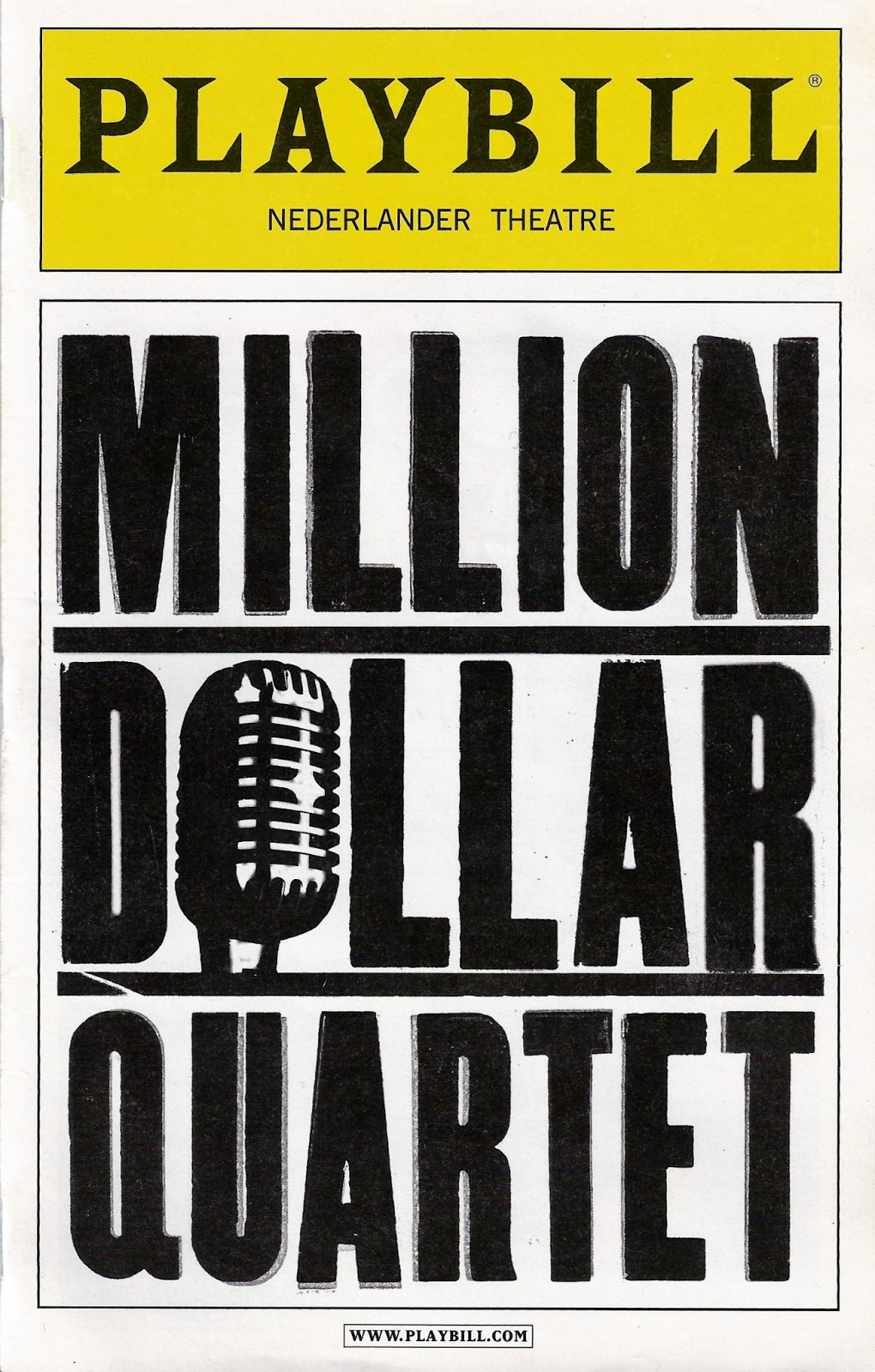 Broadway Playbill Template - Shefalitayal In Playbill Template Word