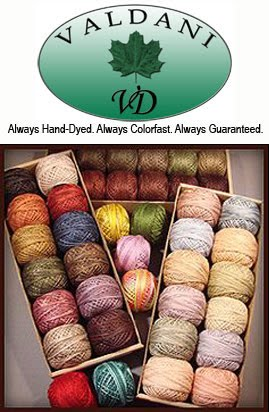 Valdani Hand Dyed Threads