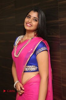 Anchor Shyamala Pictures in Pink Saree at Nandini Nursing Home Audio Launch  0062.JPG