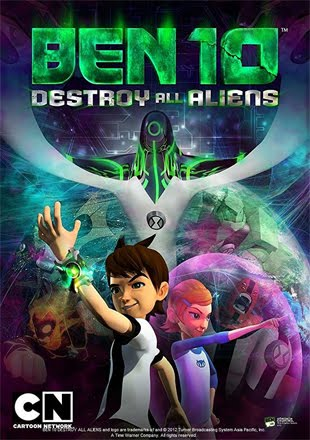 Ben 10: Destroy All Aliens 2012 BRRip 720p Dual Audio In Hindi English