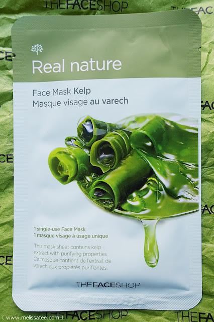 the face shop, the face shop haul, the face shop review, face masks, kelp sheet mask, blood orange sheet mask, starfruit sheet mask