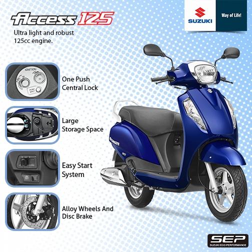Suzuki Access 125 Price in Sri Lanka 2018 January
