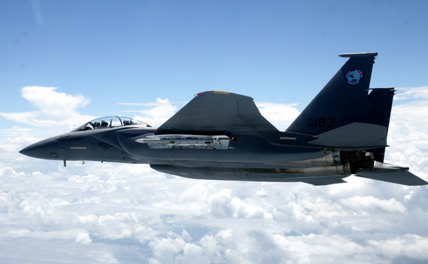 Gambar 08. Foto Pesawat Tempur F-15 Silent Eagle