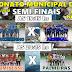 Definidos os confrontos da semifinal do Municipal de Futsal de Cuitegi. Confira também outros jogos.