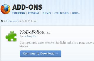 Ads-on untuk Mengetahui Blog dofollow pada Mozilla Firefox