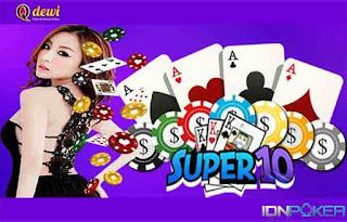 Judi Super10 Permainan Terpopuler Agen QDewi
