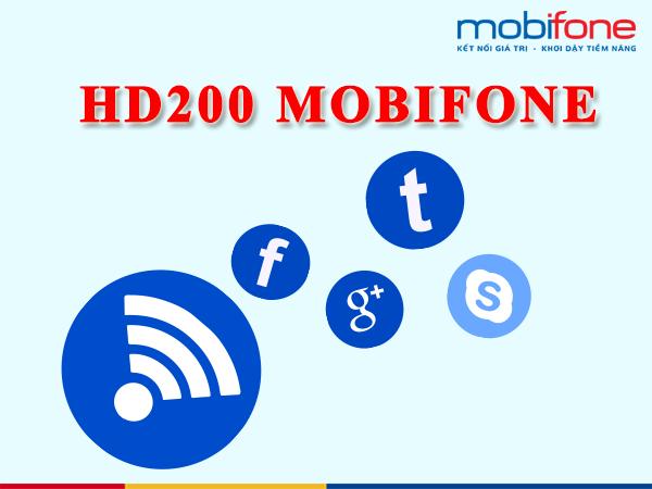 Đăng ký gói cước HD200 Mobifone