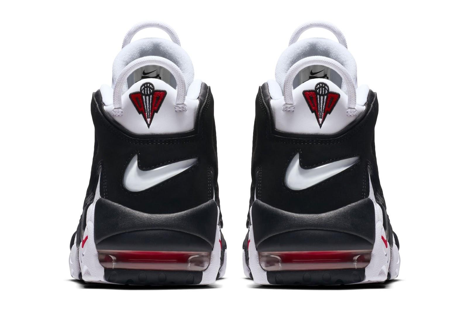 Nike Air More Uptempo White Black  adbeb0318